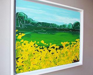 Edward Dwurnik : Marigolds : Oil on Canvas
