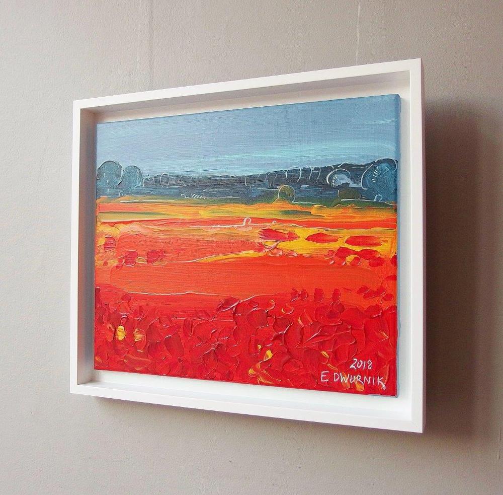 Edward Dwurnik : Orange meadow