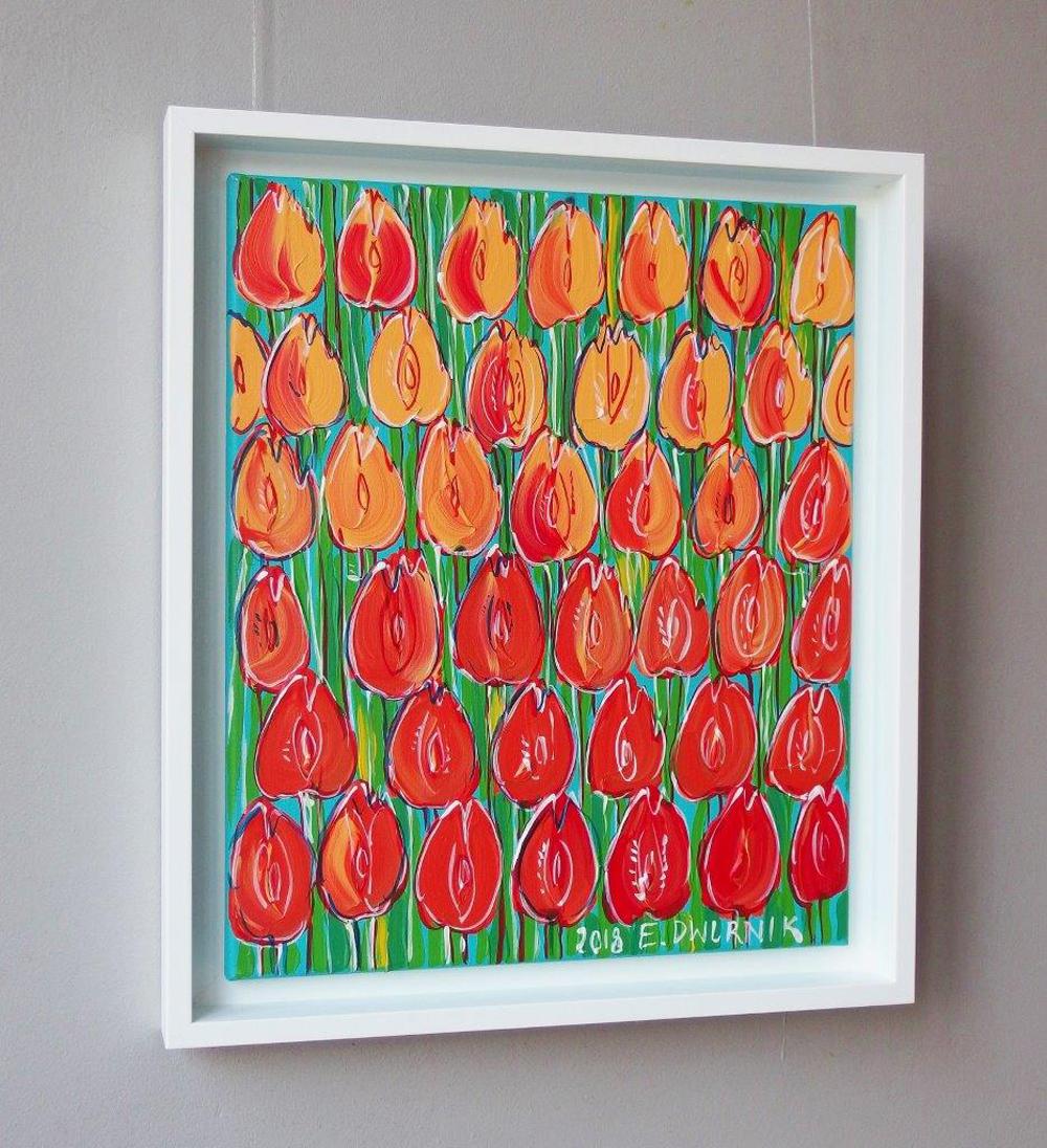 Edward Dwurnik : Pastel tulips