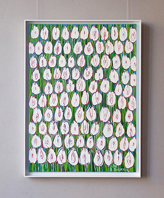 Edward Dwurnik : The purest tulips : Oil on Canvas