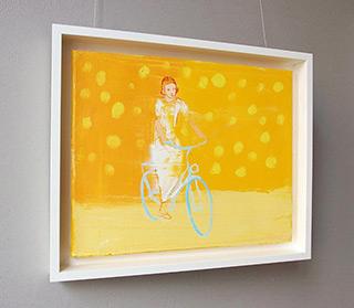 Jacek Łydżba : Cyclist No 1 : Oil on Canvas