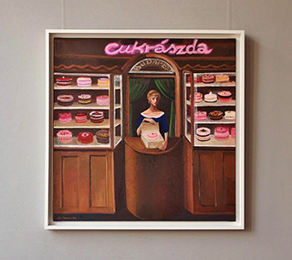 Katarzyna Karpowicz : Bakery : Oil on Canvas
