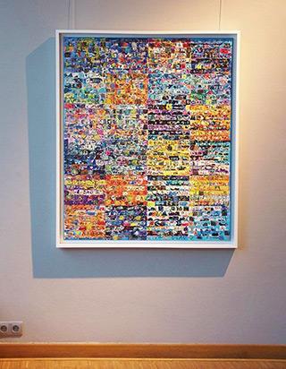 Krzysztof Pająk : Complex system : Oil on Canvas