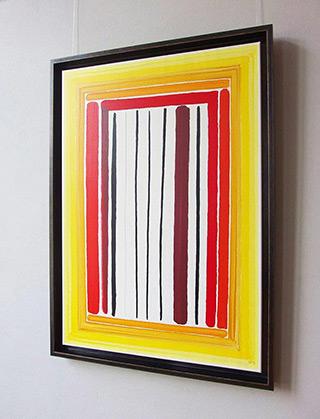 Łukasz Majcherowicz : No Admittance! : Acryl on Canvas