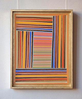 Łukasz Majcherowicz : The old rectory : Acryl, oil-resin technique on canvas