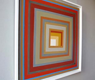 Łukasz Majcherowicz : Window space : Acrylic on Canvas
