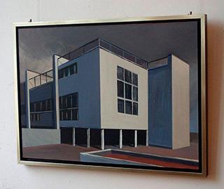Maria Kiesner : Villa : Tempera on Canvas