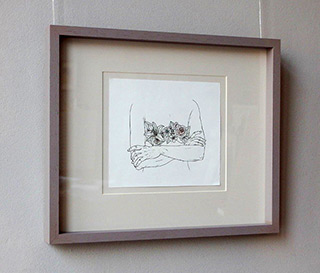 Magdalena Sawicka : Touch XXXVII (37) : Ink on paper