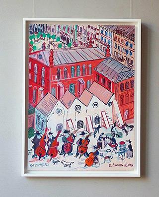 Edward Dwurnik : Kazimierz : Oil on Canvas