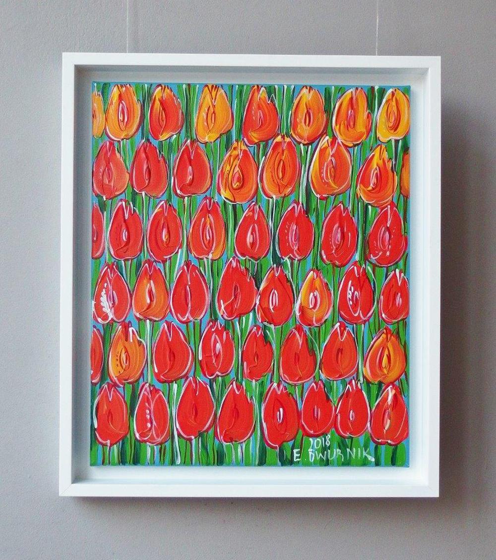Edward Dwurnik : Sunny tulips