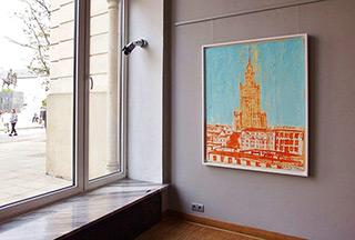 Jacek Łydżba : Warszawa : Oil on Canvas