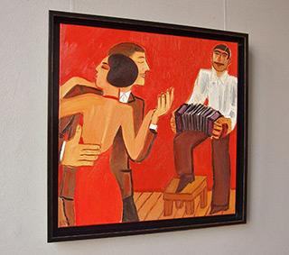 Krzysztof Kokoryn : Boards 3 : Oil on Canvas