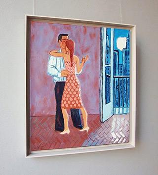 Krzysztof Kokoryn : Tango in the city : Oil on Canvas