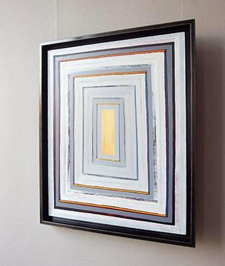 Łukasz Majcherowicz : Balance of gray : Oil on Canvas