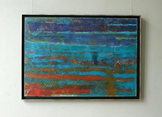 Martyna Merkel : Portuguese Landscape I : Oil on Canvas