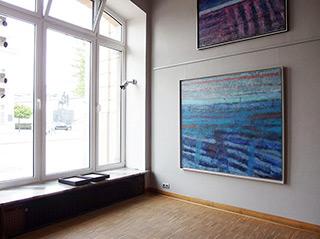 Martyna Merkel : Landscape No 2 : Oil on Canvas