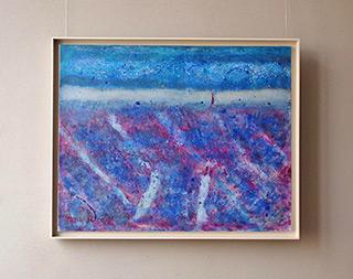 Martyna Merkel : Winter landscape : Oil on Canvas