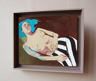 Agnieszka Sandomierz : After the party : Tempera on canvas