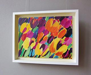 Beata Murawska : Sensual tulips : Oil on Canvas