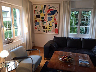 Kalina Horoń : Complex : Mixed media on canvas