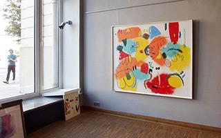 Kalina Horoń : Funky : Mixed media on canvas