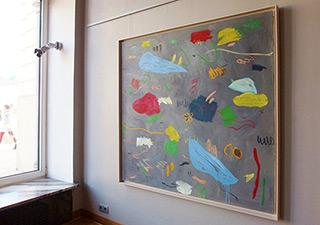 Kalina Horoń : It was so beautiful : Mixed media on canvas
