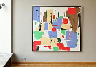 Kalina Horoń : Magnificent : Acrylic on canvas