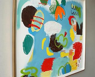 Kalina Horoń : Sky is wild today : Acrylic on canvas