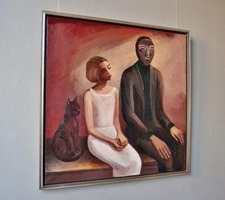 Katarzyna Karpowicz : Caring Guardian : Oil on Canvas