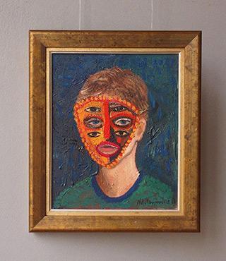 Katarzyna Karpowicz : Eyes : Oil on Canvas