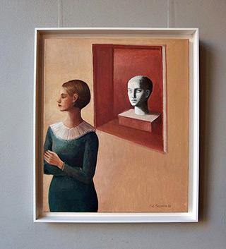 Katarzyna Karpowicz : Fortune : Oil on Canvas