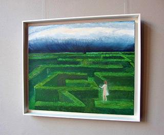 Katarzyna Karpowicz : Labyrinth : Oil on Canvas
