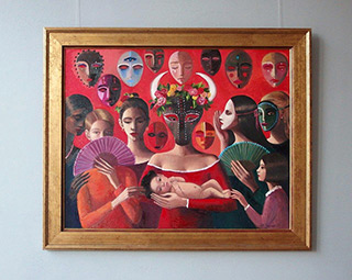Katarzyna Karpowicz : Little Matador : Oil on Canvas