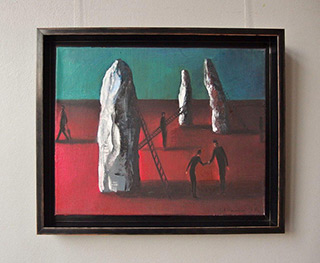 Katarzyna Karpowicz : Monoliths : Oil on Canvas