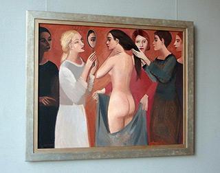 Katarzyna Karpowicz : Women's Solidarity : Oil on Canvas