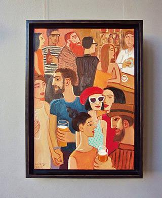 Krzysztof Kokoryn : Red beret : Oil on Canvas