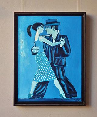 Krzysztof Kokoryn : Blue tango : Oil on Canvas