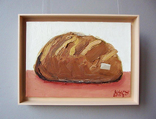 Krzysztof Kokoryn : Bread : Oil on Canvas