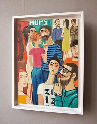 Krzysztof Kokoryn : Hops : Oil on Canvas
