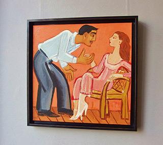 Krzysztof Kokoryn : Boards 1 : Oil on Canvas