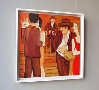 Krzysztof Kokoryn : Boards 2 : Oil on Canvas