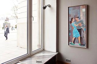 Krzysztof Kokoryn : Palermo : Oil on Canvas