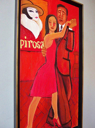 Krzysztof Kokoryn : Papirosa : Oil on Canvas
