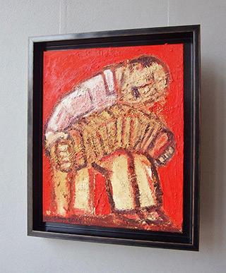 Krzysztof Kokoryn : Piazzolla : Oil on Canvas