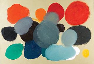 Łukasz Majcherowicz : Clouds : Oil on Canvas