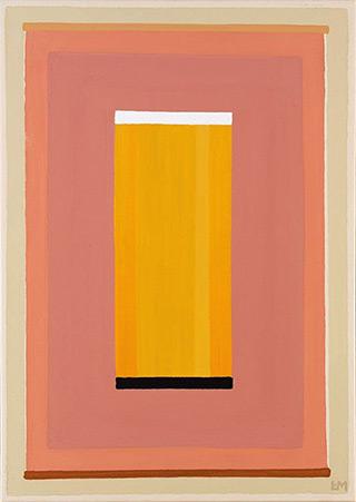 Łukasz Majcherowicz : Sun Portal : Acrylic on canvas