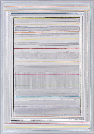 Łukasz Majcherowicz : The Song of Love : Acryl oil-resin technique on canvas