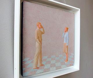 Mikołaj Kasprzyk : Call : Oil on Canvas
