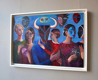 Katarzyna Karpowicz : Baby Daughter : Oil on Canvas