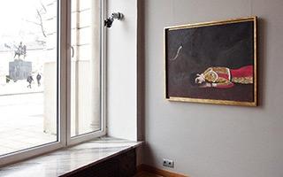 Katarzyna Karpowicz : Black Eye : Oil on Canvas